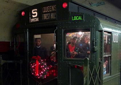 New York City Vintage Subway Car Ride MTA New York City
