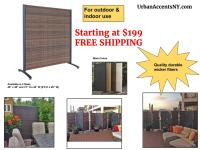 Free Standing Outdoor Privacy Screens - Outdoor Designs