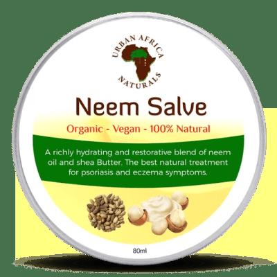 urban africa naturals-neemzalf-neem-shea butter-eczeem-psoriasis-hoofdhuid aandoeningen-droge-huid