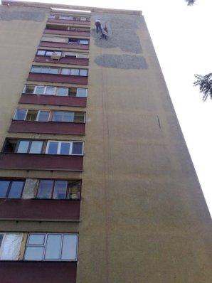obijanje stare fasade