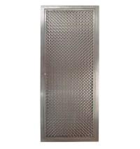 Mesh Door Cabinet & Gray Butler Pantry Cabinets With Metal ...