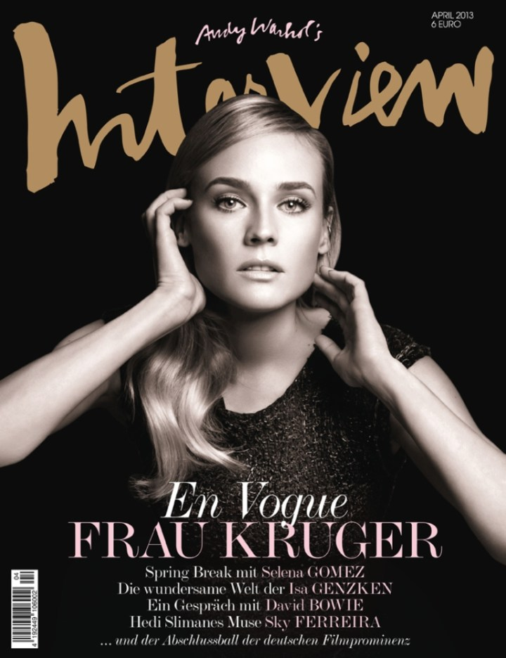 Diane Kruger Interview Cover