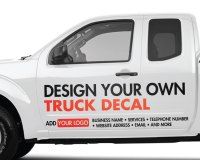 Custom Truck Stickers - Custom Stickers for Trucks ...