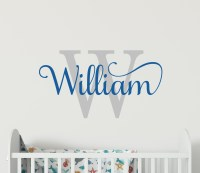 Wall Stickers for Boys Name Wall Stickers Wall Decor Boys ...