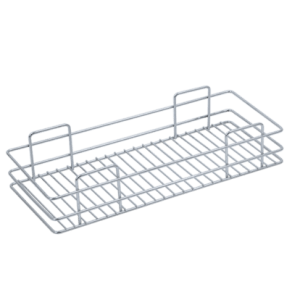 SINGLE BASKET PULL-OUT (4″ HEIGHT X 6″ WIDTH X 20″ DEPTH) STAINLESS STEEL