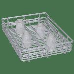 Glass Basket ( 4″ Height X 12″ Width X 20″ Depth ) Stainless Steel