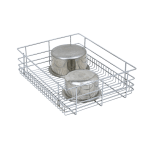PLAIN DRAWER BASKET (6″ HEIGHT X 19″ WIDTH X 20″ DEPTH) 6MM WIRE STAINLESS STEEL
