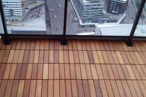 garapa balcony flooring