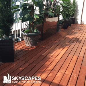 Skyscapes Structural Tiles - Outdoor balcony flooring is a wise investment.