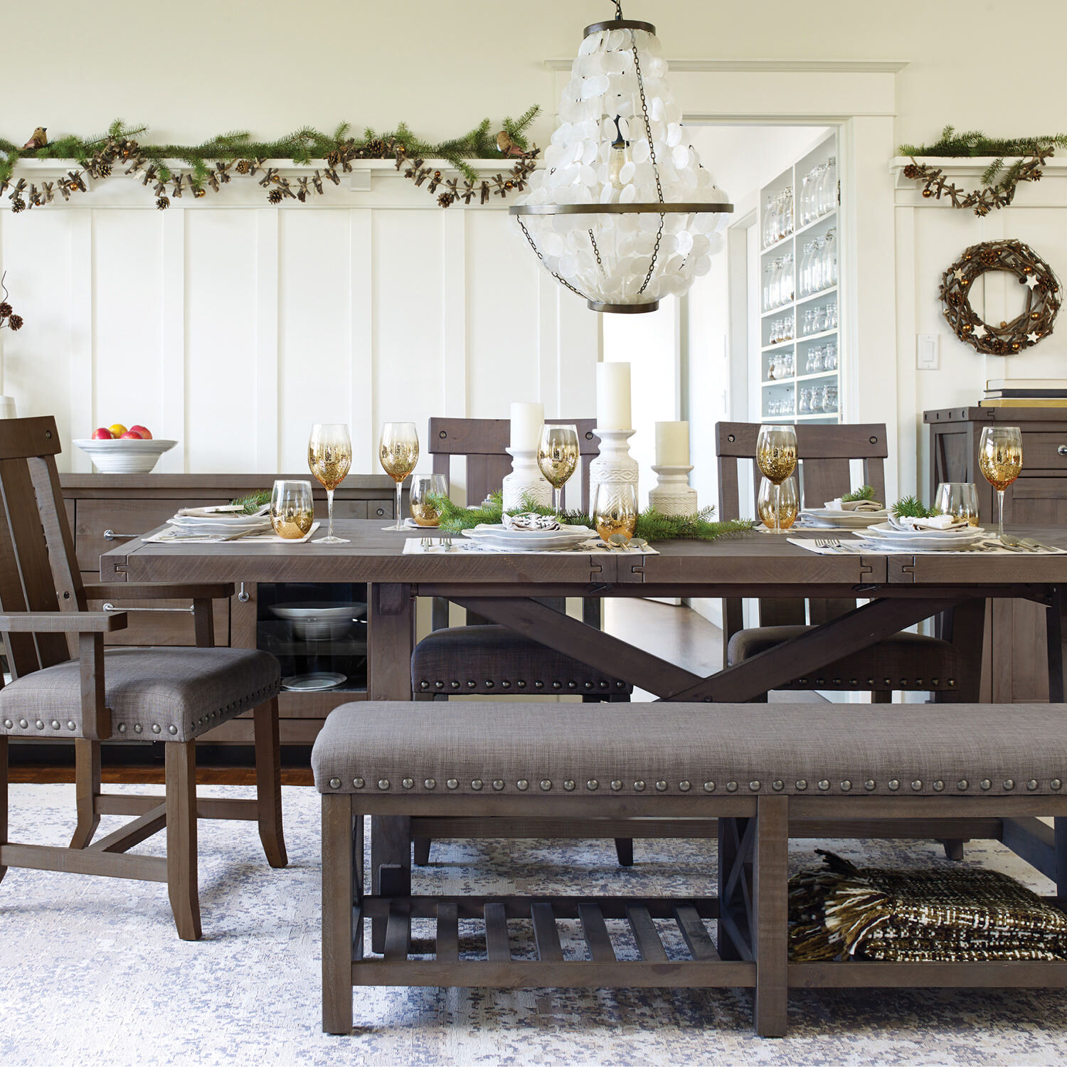 Ironside Dining Chair Rustic Grey