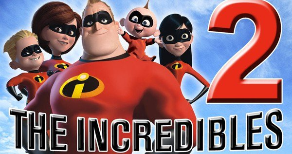 the incredibles 2 2018