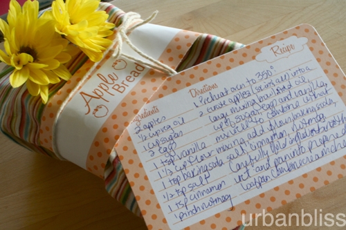 Free Printable Fall Recipe Cards