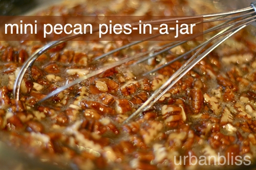 mini pies in a jar pecan pie recipes