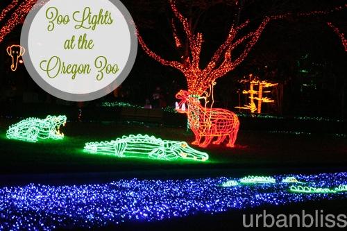 Zoo Lights - Oregon Zoo - Animals