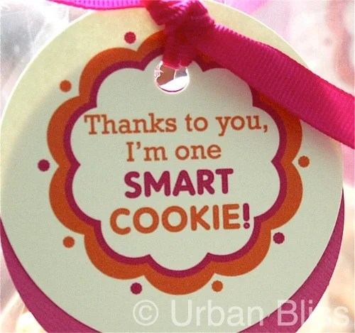 Teacher Appreciation Week Printable 2 of 5: Smart Cookie