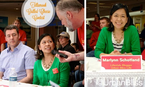 Tillamook Grilled Cheese Contest - judges