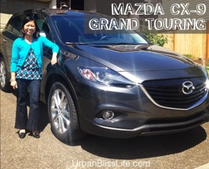 Mazda CX-9 Grand Touring AWD family car SUV review