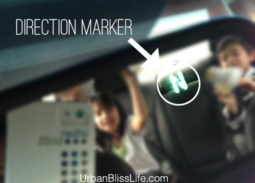 Kia Optima SX - direction marker