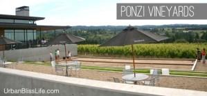 Ponzi Winery Tasting Room Sherwood, Oregon