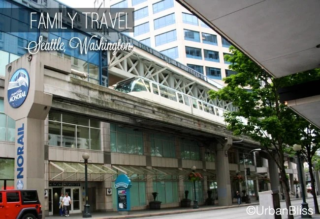 Family Travel Seattle - Monorail 01