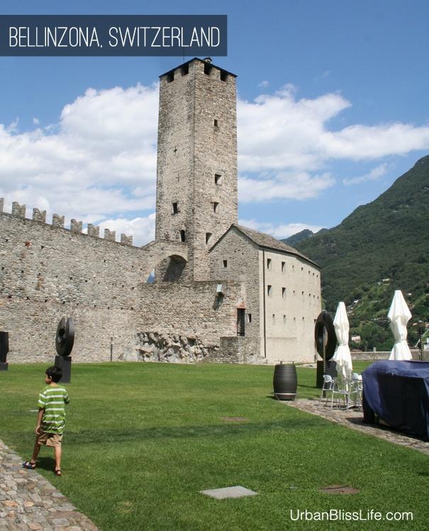 Castles of Bellinzona Switzerland