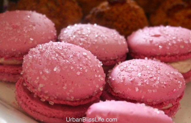 Feast Portland 2013 - Pink Macarons
