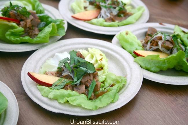 Feast Portland 2013- WFM Competition - Mushroom salad