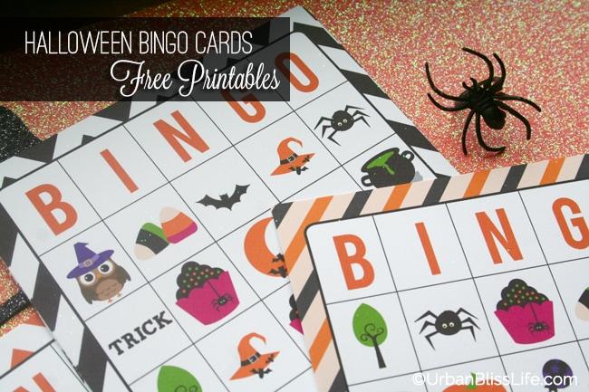 Halloween Bingo Cards Printables 02