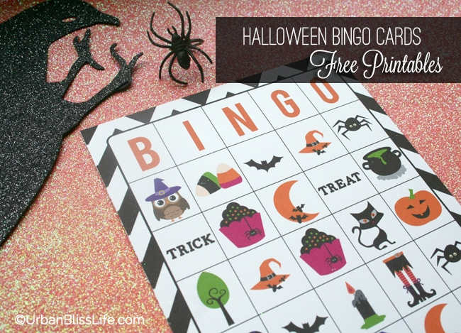 Halloween Bingo Cards Printables 03