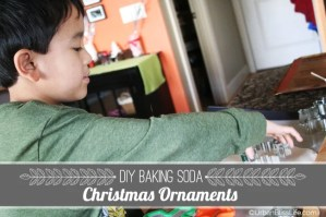 DIY Christmas Baking Soda Ornaments