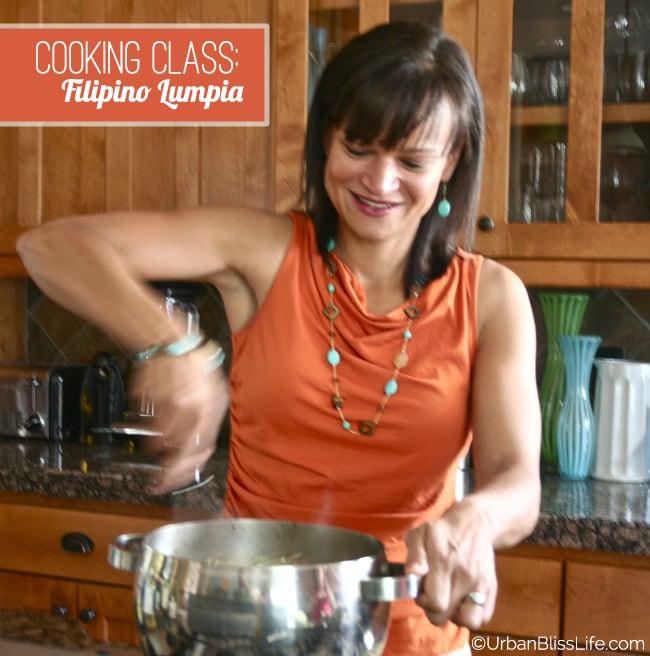 Cooking Class - Filipino Lumpia 04