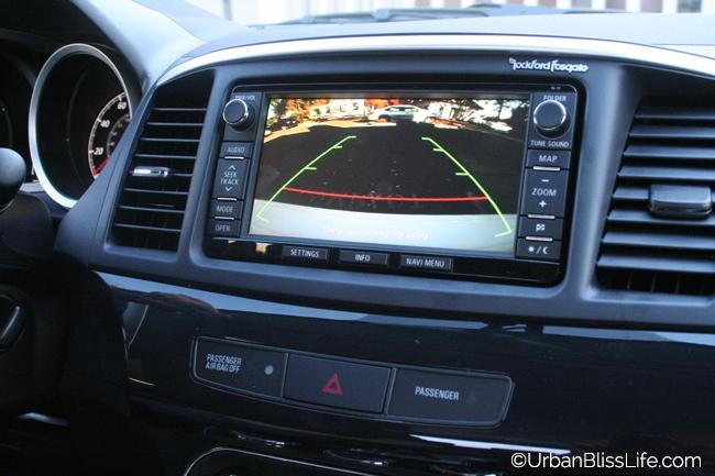 Mitsubishi Lancer - reverse cam