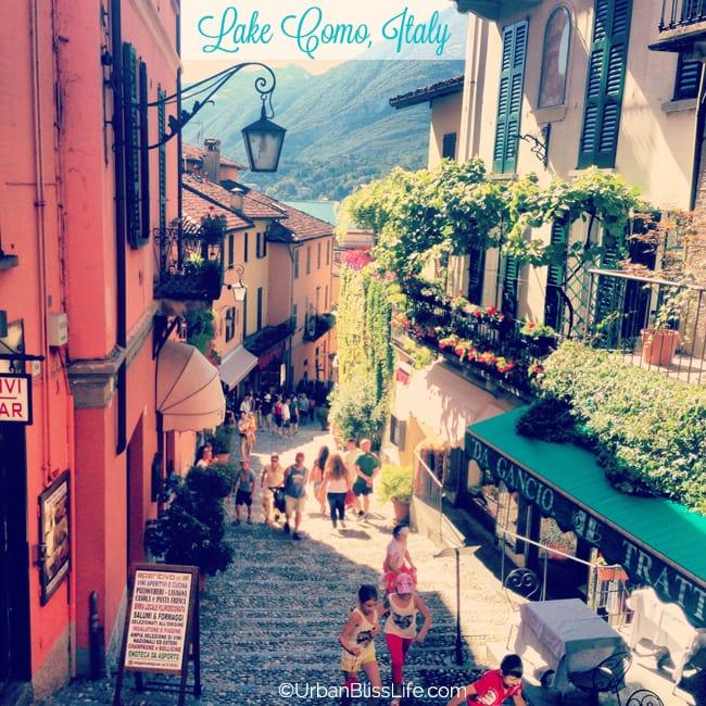 [Travel Bliss] Family Travel to Lake Como, Italy