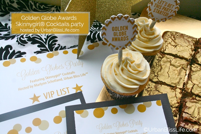 Golden Globes Skinnygirl party