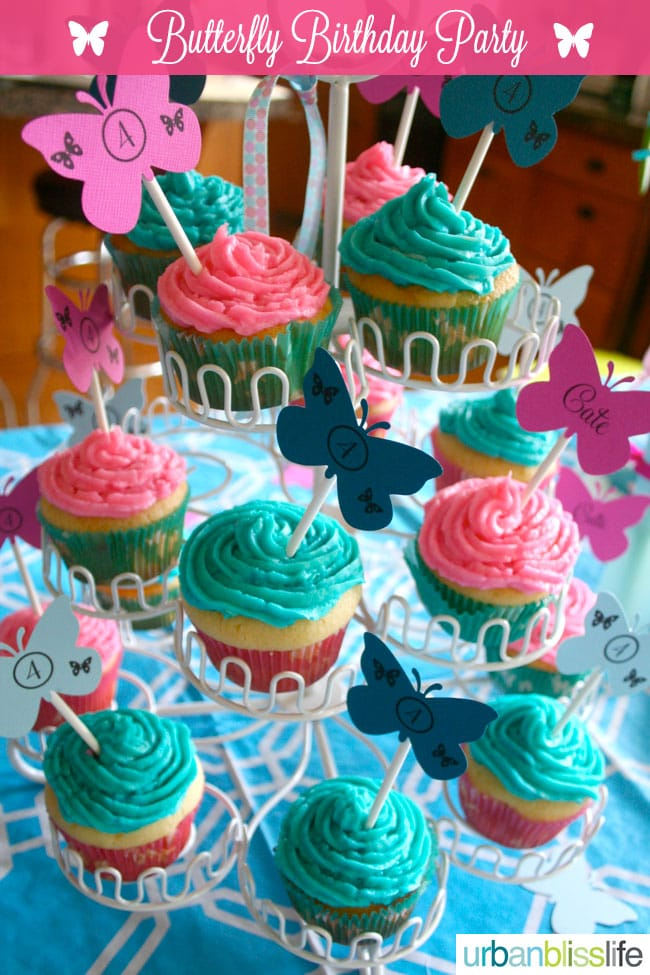 A Butterfly Birthday Party