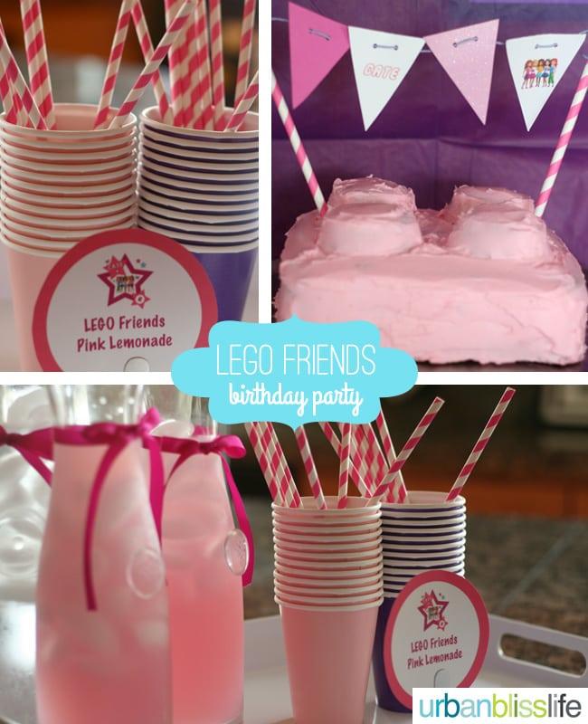 LEGO-Friends-Birthday-Party-lemonade-cake