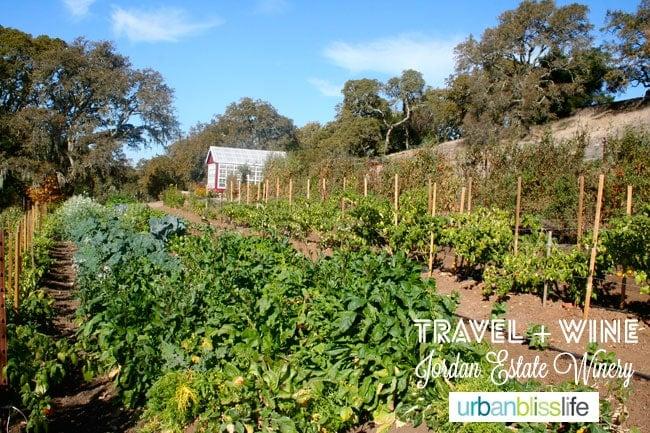 Jordan Estate Winery Sonoma California