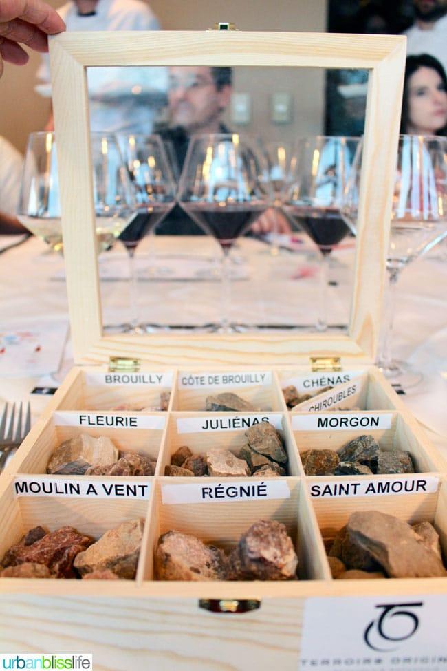 Beaujolais Food Feast Terrior Wine
