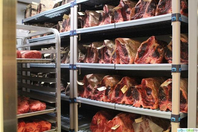 Ringside Steakhouse Meat Locker