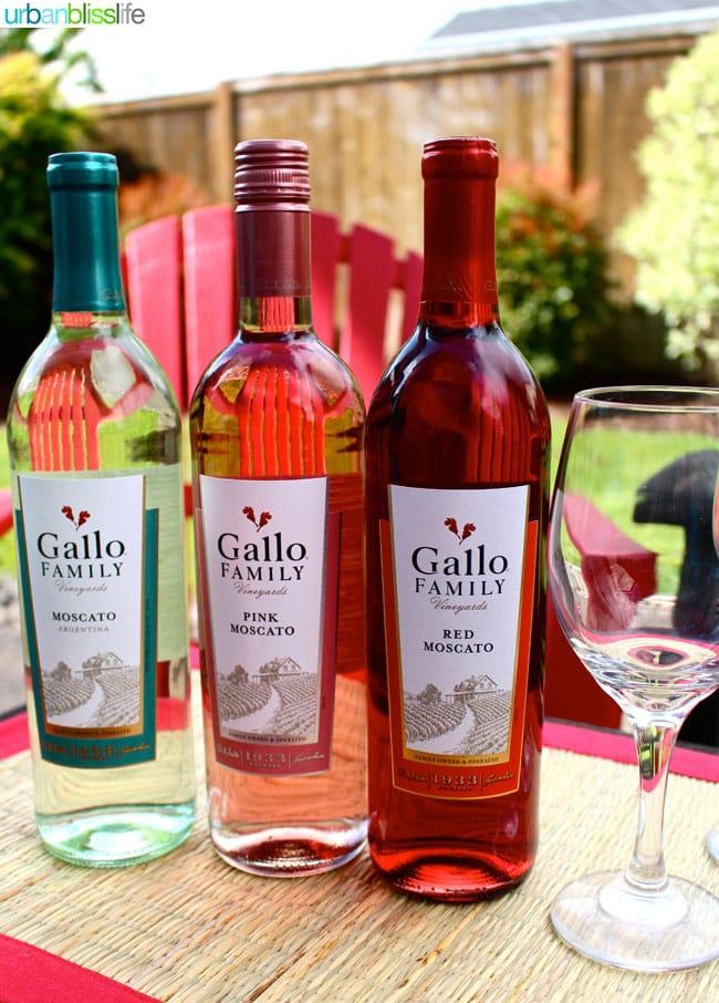 Gallo Wines Moscato Strawberries   UrbanBlissLife.com