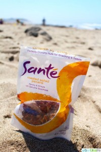 Sante Nuts on the beach