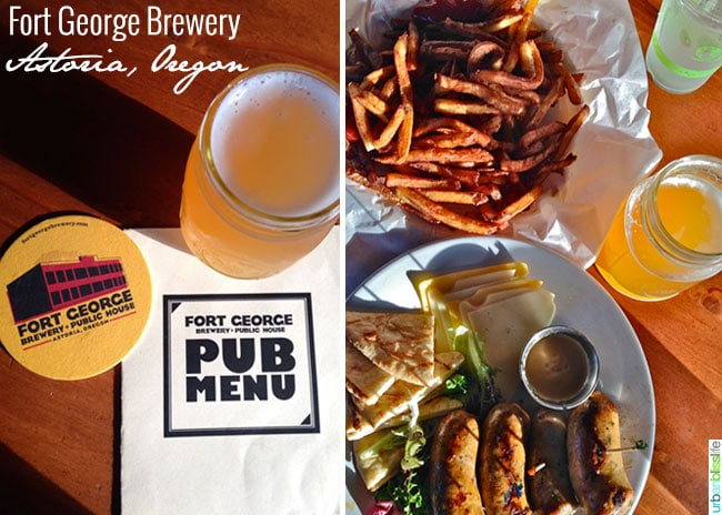 Fort George Brewery // Family Travel to Astoria, Oregon