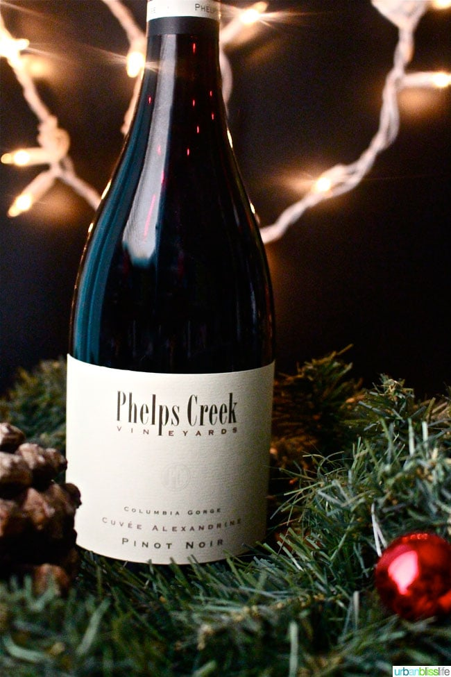 Holiday Wines Phelps Creek Cuvee Alexandrine Pinot Noir