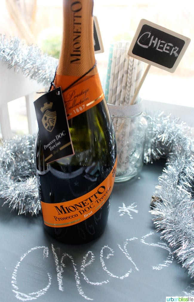 Mionetto Prosecco New Year's Eve Wines   UrbanBlissLife.com