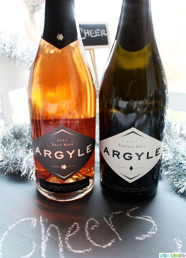 Argyle Brut - New Year's Eve Wines   UrbanBlissLife.com