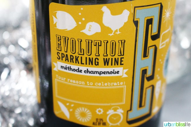 Evolution Sparkling New Year's Eve Wines | UrbanBlissLife.com