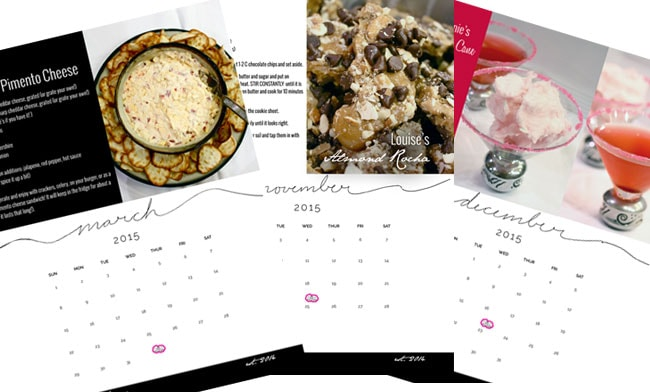 Bunco Calendar ©UrbanBliss