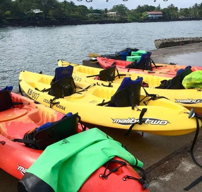 Kayaking Snorkeling Hawaii the Big Island | UrbanBlissLife.com