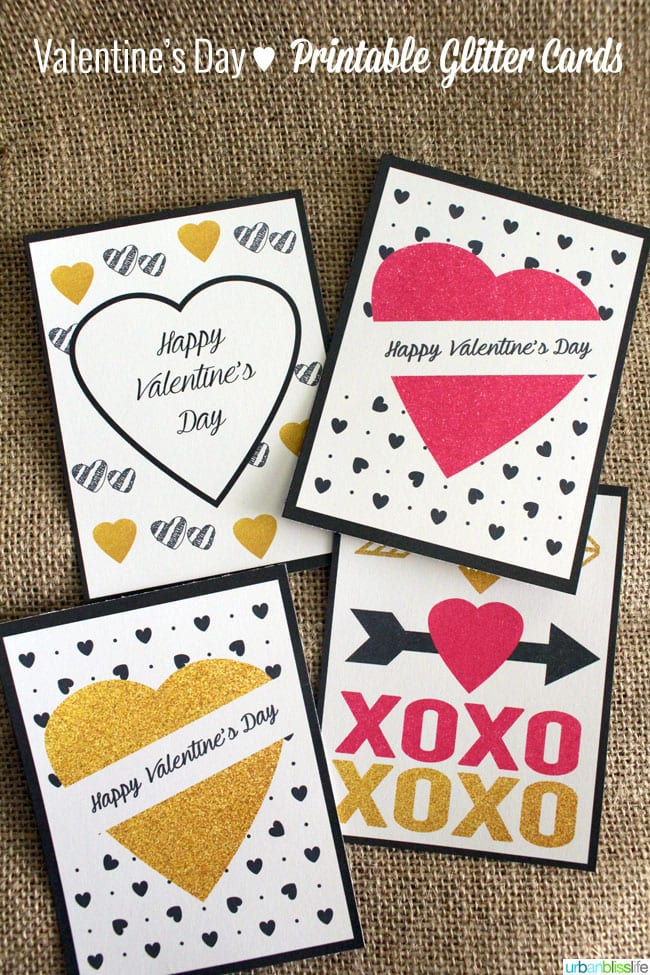 Make It Monday: LIMITED-TIME FREE Valentine's Day Cards Printables