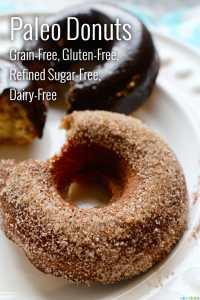 Paleo Donuts Grain-Free, Gluten-Free, Dairy-Free
